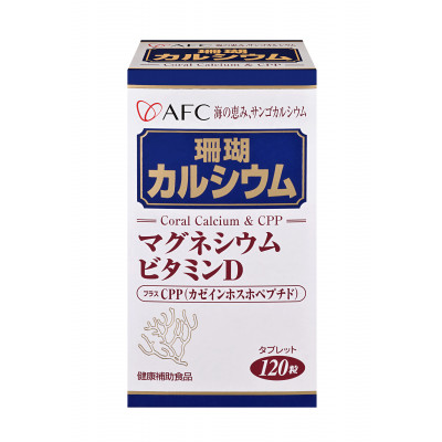 AFC宇勝淺山 菁鑽新珊瑚鈣S膠囊食品