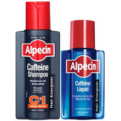 Alpecin 咖啡因頭髮洗髮養護組(250ml+200ml)