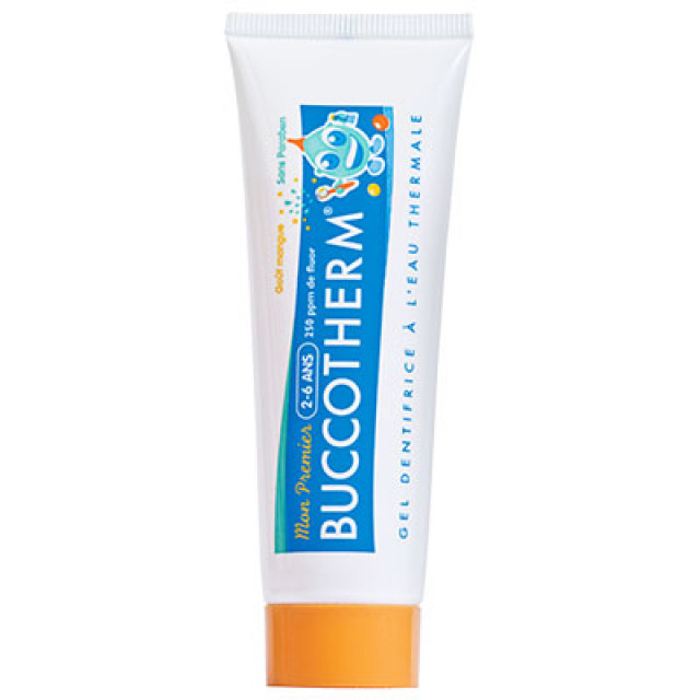 Buccotherm健口泉 2-6歲幼兒潔淨牙膏(芒果口味)