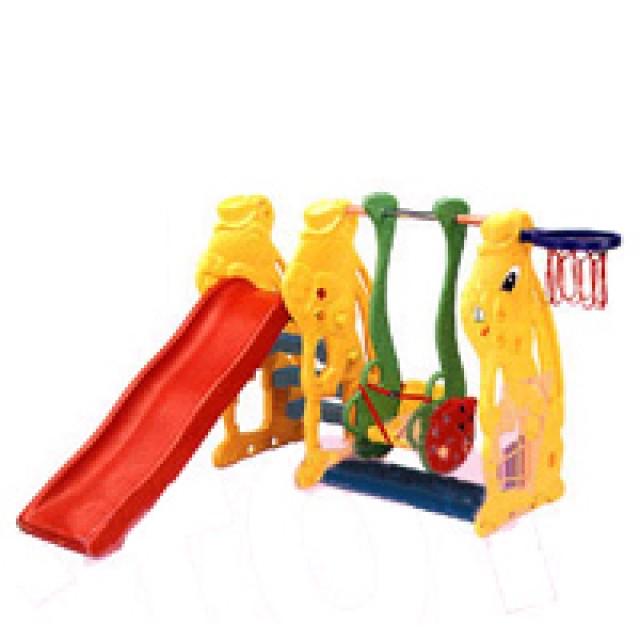 親親玩具 小白兔溜滑梯+鞦韆(全面75折)