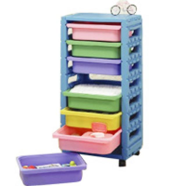 親親玩具 單排組合櫃(附輪)(全面75折)