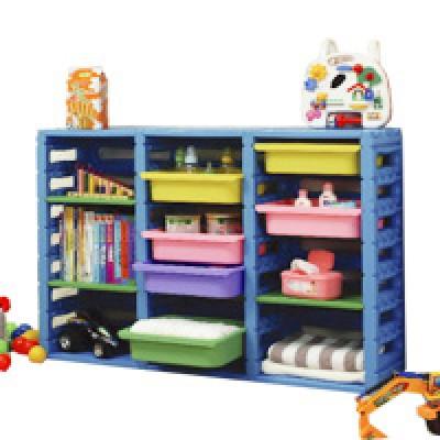 親親玩具 三排組合櫃(全面75折)