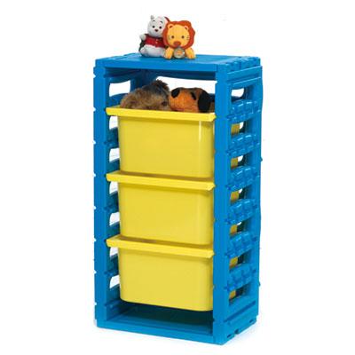 親親玩具 單排組合櫃(大抽屜)(全面75折)