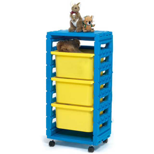 親親玩具 單排組合櫃(大抽屜)(附輪)(全面75折)