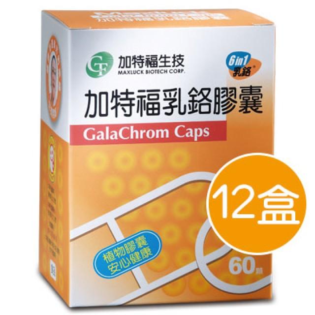 GTF加特福 活力乳鉻膠囊12盒