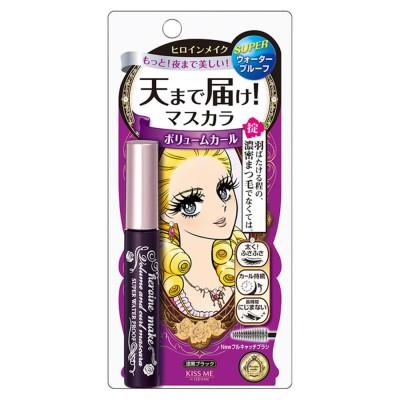 Kiss Me花漾美姬 瞬翹自然捲濃密防水睫毛膏