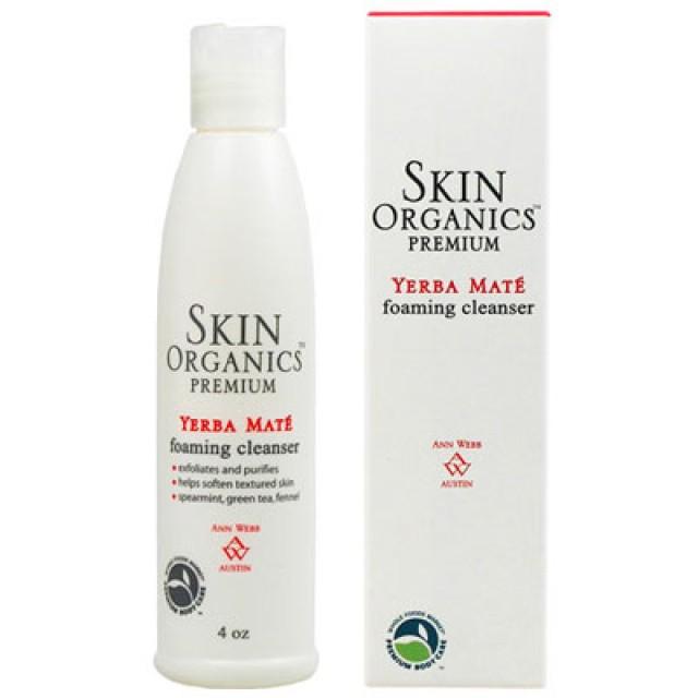Skin Organics 馬黛茶菁華泡沫潔顏乳