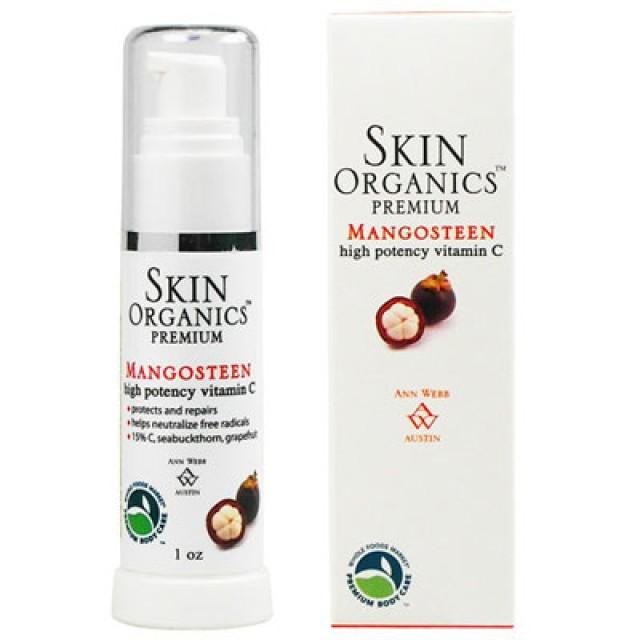 Skin Organics 15%左旋C山竺美白精華液