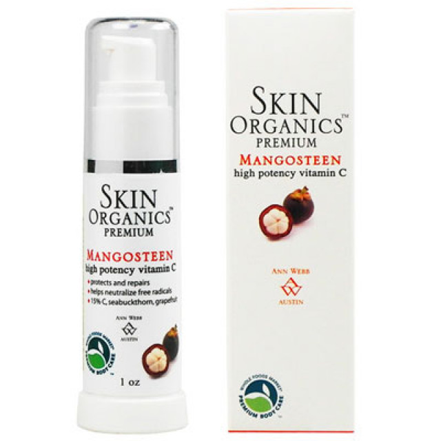 Skin Organics 15%左C山竺美白精華液