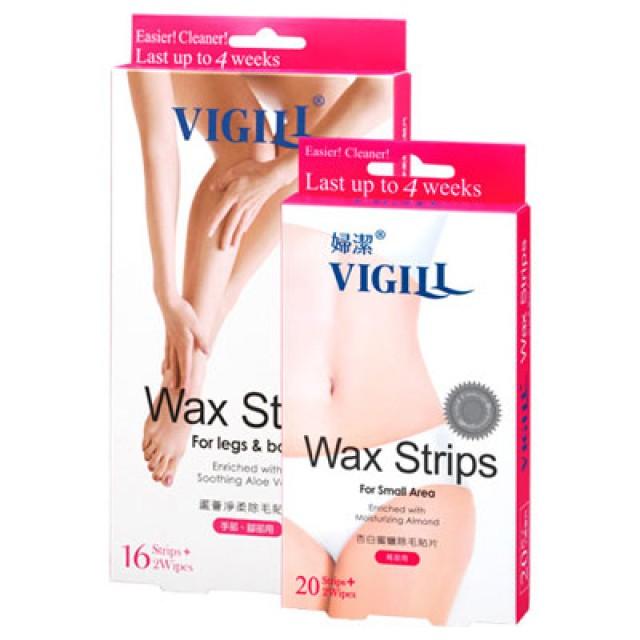 VIGILL婦潔 除毛貼片大加小36片超值組(手腳+局部用)
