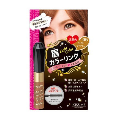 Kiss Me花漾美姬 Heavy Rotation 眉彩膏#05亮棕色