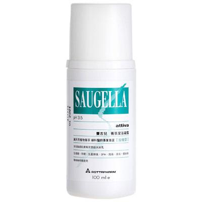 Saugella賽吉兒 菁萃潔浴凝露(加強型) 100ml(送賽吉兒體驗包5包)
