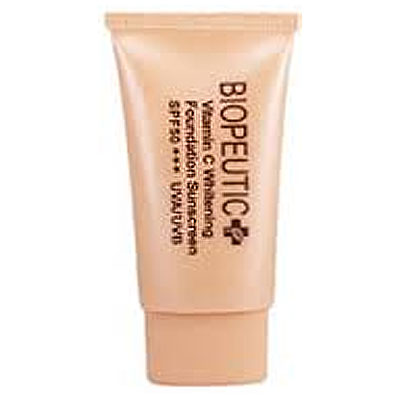 Biopeutic葆療美 美白C清爽防曬乳SPF50(粉嫩色)(送葆療美試用包*5包)