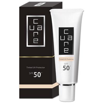 CureCare炫曜 潤色防曬乳霜 SPF50 (新品上市,加贈保濕精華露8ml)
