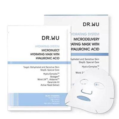 DR.WU達爾膚 玻尿酸保濕微導面膜