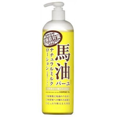 日本Loshi 馬油乳液 485ml