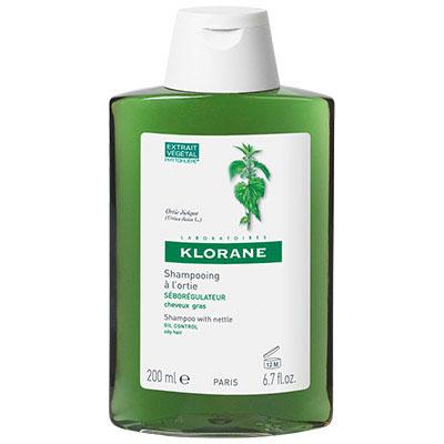KLORANE蔻蘿蘭 控油洗髮精 200ml(短效出清;末效至2018/09)