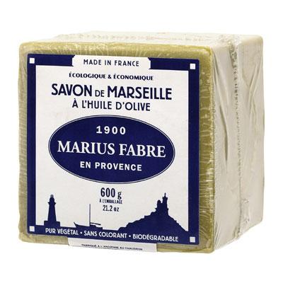 Marius Fabre 法鉑橄欖油經典馬賽皂 600g