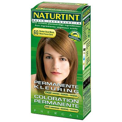 NATURTINT 赫本染髮劑-6G深金棕色