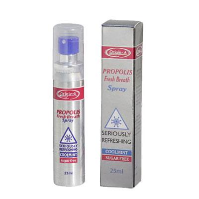 澳洲Origin-A 清涼氣息蜂膠噴喉劑