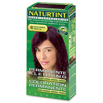 NATURTINT 赫本染髮劑-4I紫金炫彩
