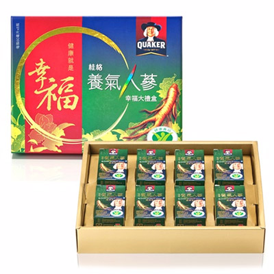 桂格 養氣人蔘禮盒(8瓶/盒)
