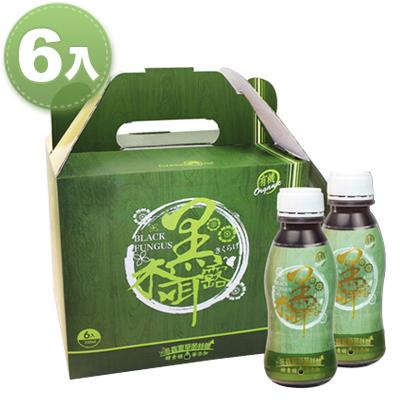 綠色奇蹟 有機冬蟲夏草菌絲體黑木耳露(6入/盒)