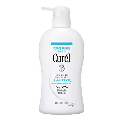 Curel珂潤 溫和潔淨洗髮精 420ml