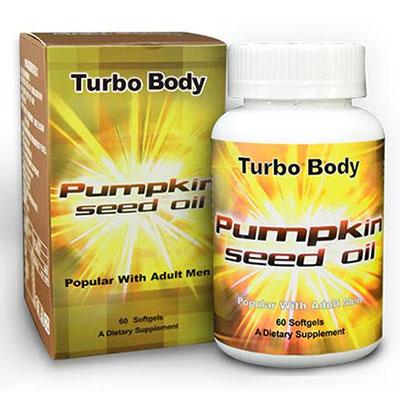 Turbo Body 南瓜籽油 (60顆/瓶)